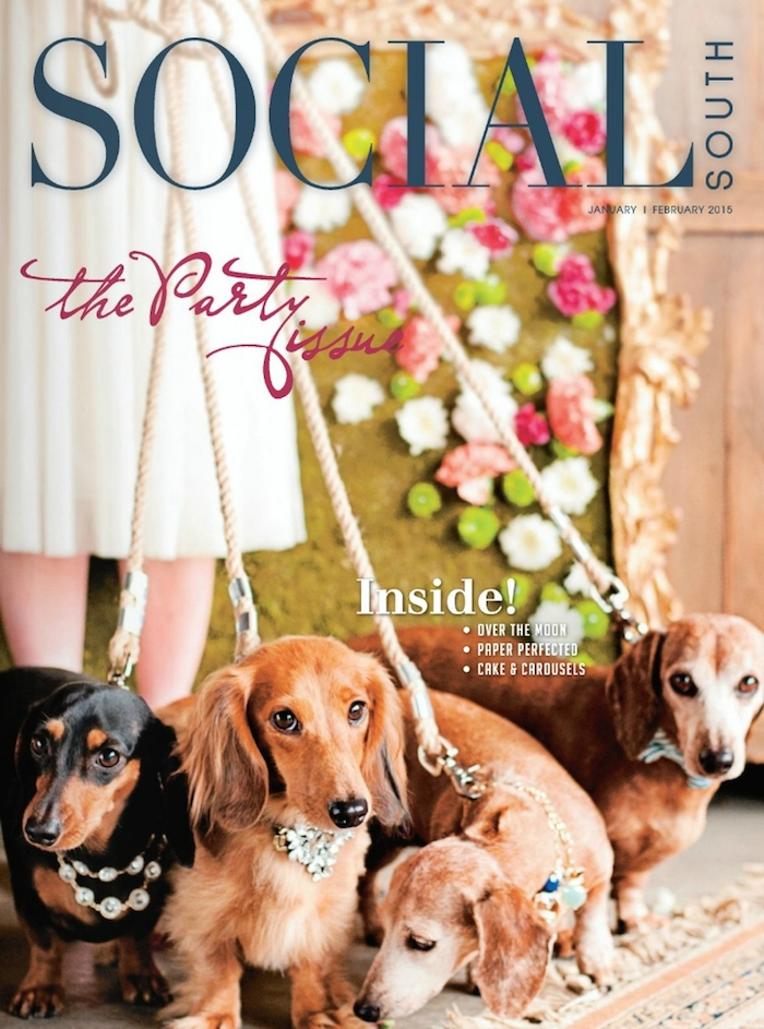 January/February Issue of Social South // THE HIVE