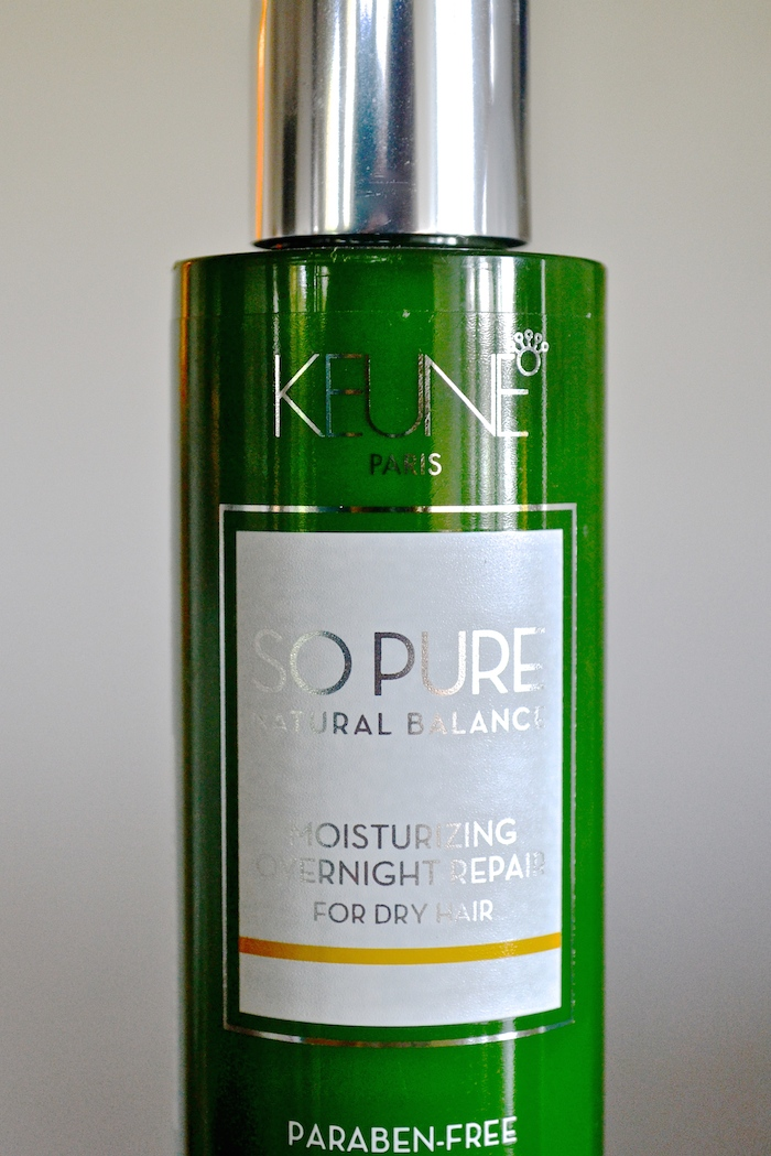 Keune Moisturizing Overnight Repair // THE HIVE