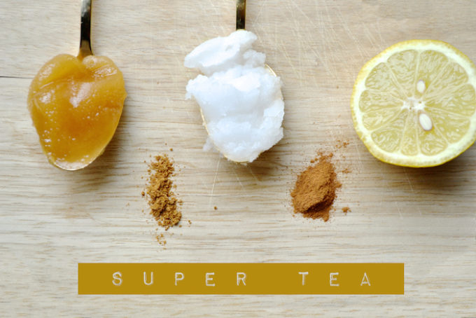 Super Immunity Tea via thehiveblog.com