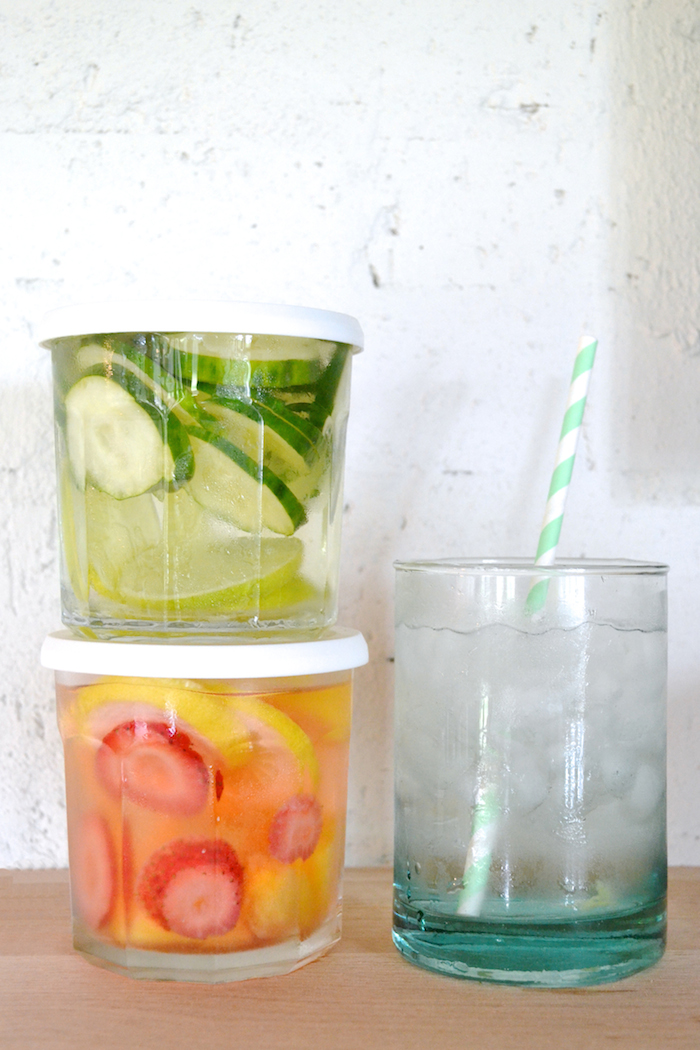 Fruit Infused Water // www.thehiveblog.com