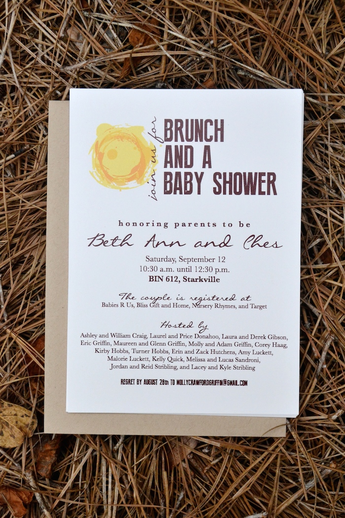 Brunch and a Baby Shower THE HIVE