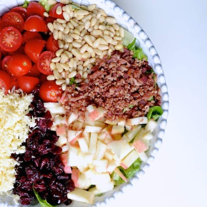 Seasonal Salad // www.thehiveblog.com
