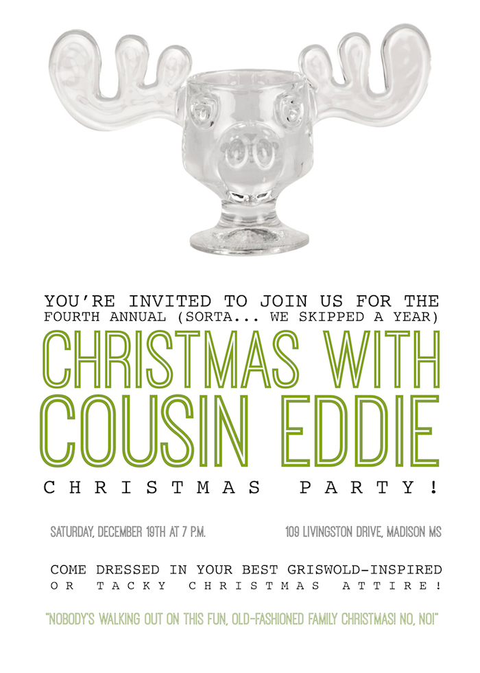 Christmas With Cousin Eddie - Christmas Vacation themed party // www.thehiveblog.com