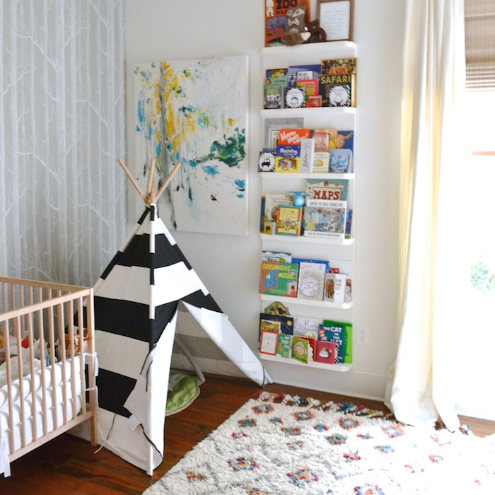 Transitioning from nursery to toddler bedroom // www.thehiveblog.com