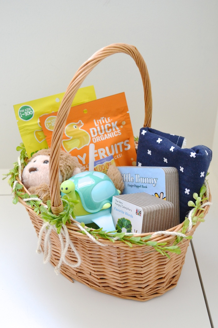 Baby easter baskets the hive easter basket ideas for kids under two thehiveblog negle Images