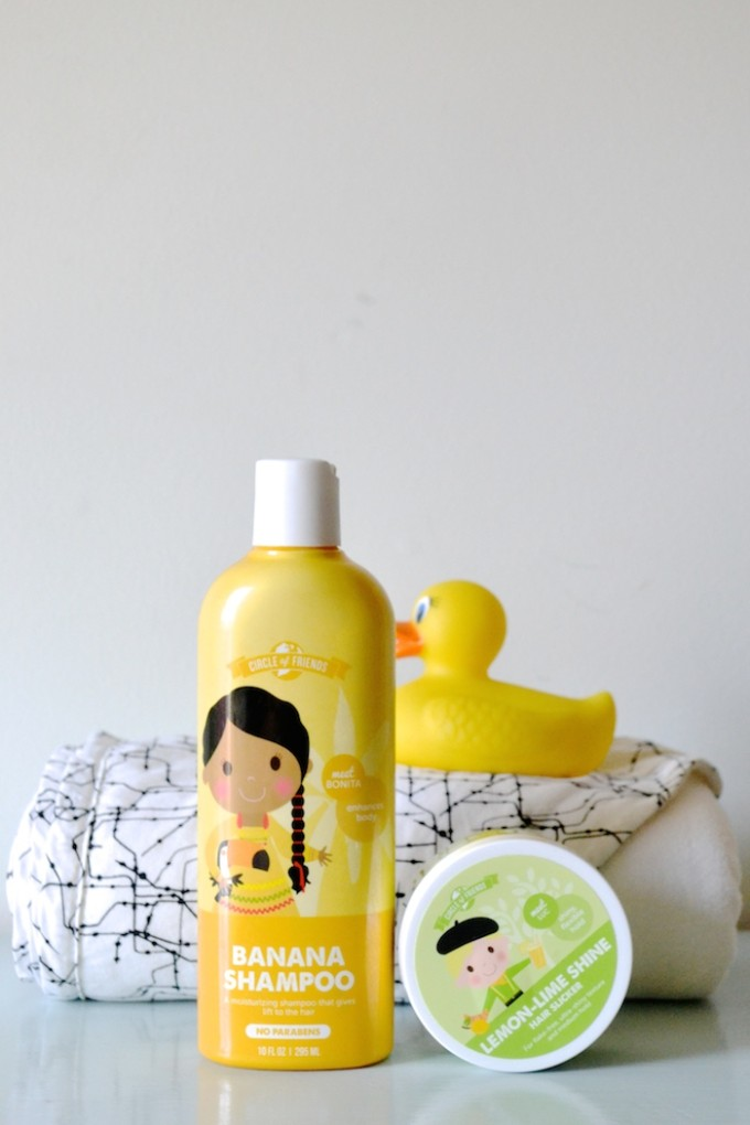 Circle of Friends hair care for toddlers and kids // www.thehiveblog.com