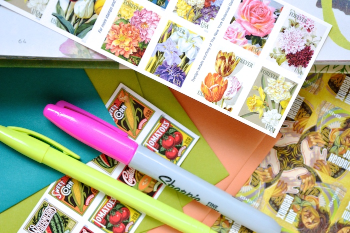 Up Your Snail Mail Game // www.thehiveblog.com