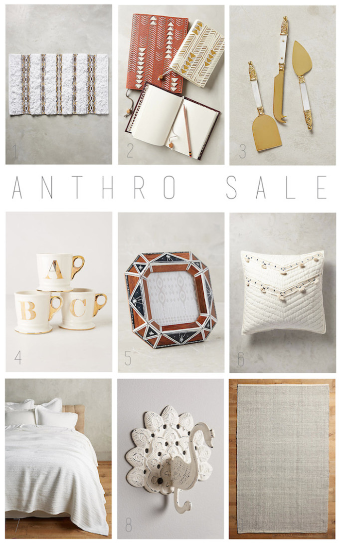 Anthro is having a sale on top of a sale! // www.thehiveblog.com