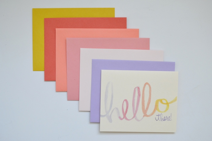 Hello there stationery by The Lovely Bee!