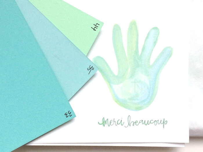 Custom Thank You Cards for Hand Clinic