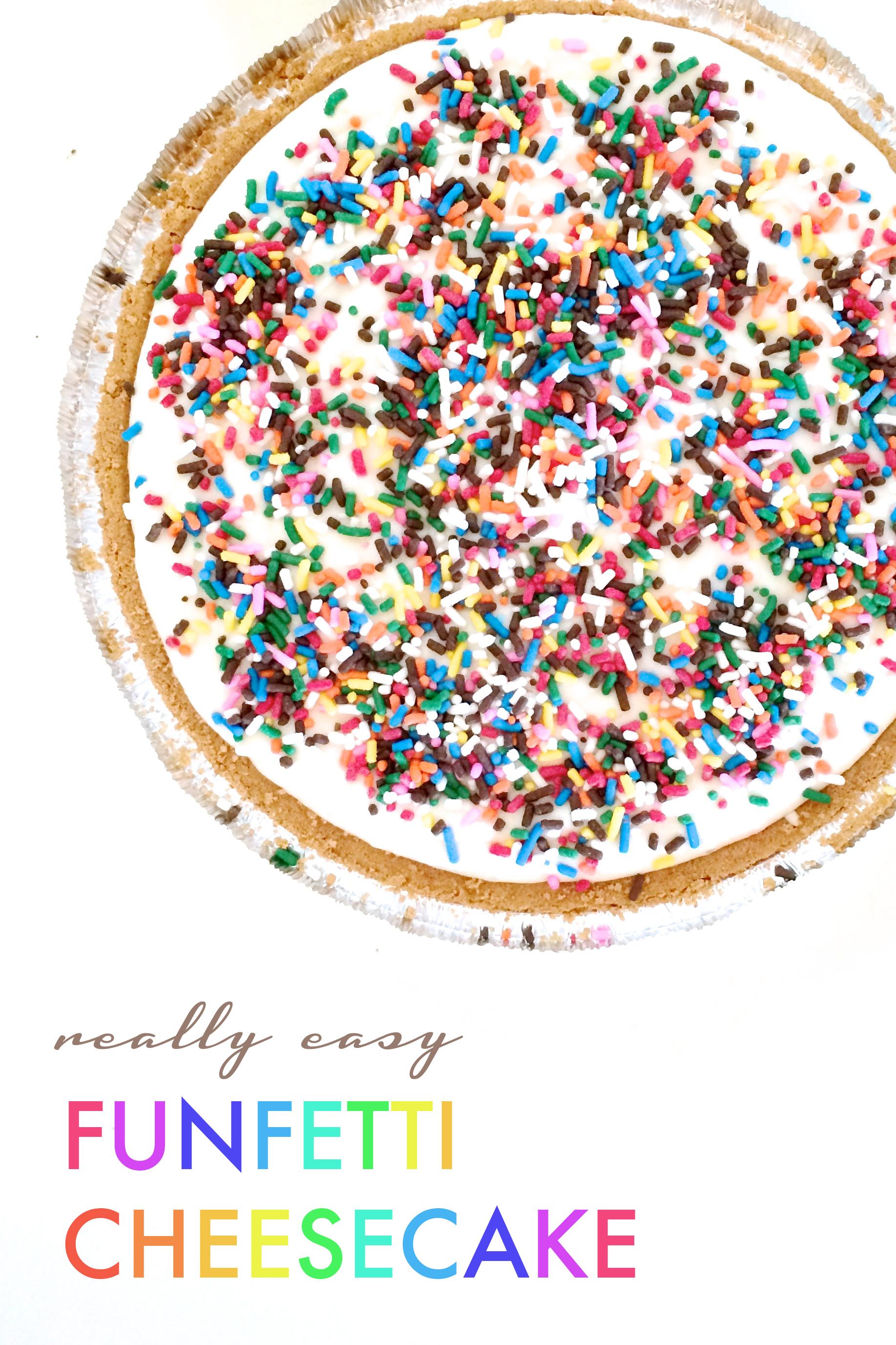 Funfetti Cheesecake Recipe from Delish