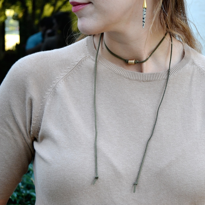 EAU handmade jewelry that gives back! // www.thehiveblog.com
