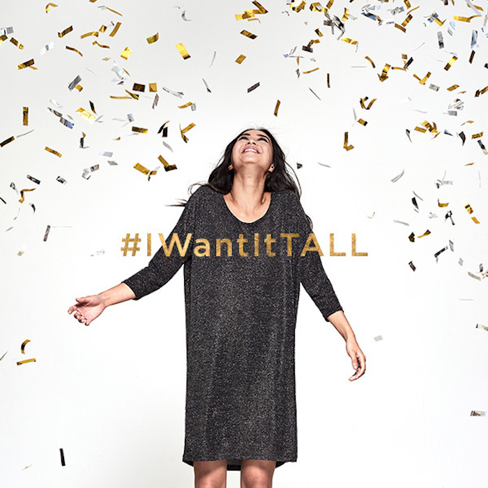 Long Tall Sally's I WANT IT ALL campaign!