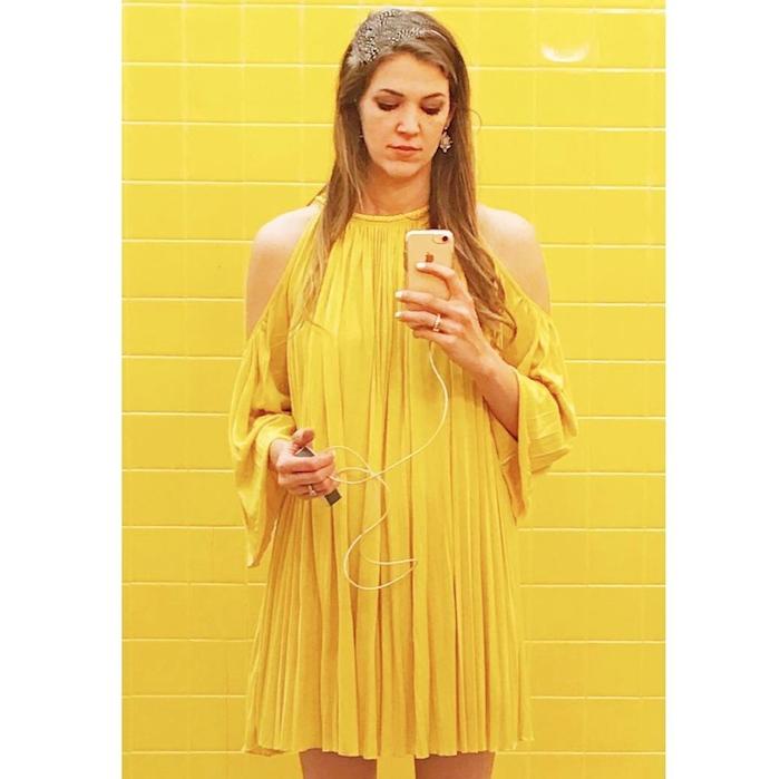 yellow on yellow!