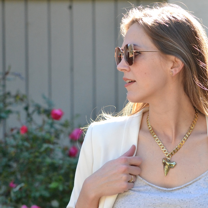 Marrin Costello statement necklace via thehiveblog.com