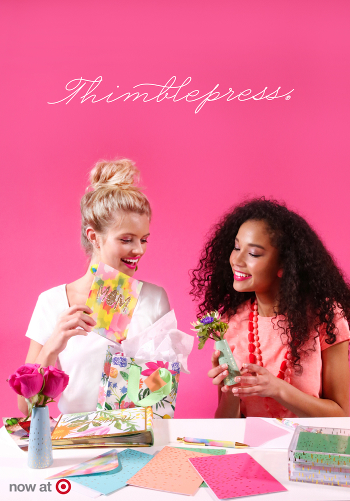 Thimblepress at Target via thehiveblog.com