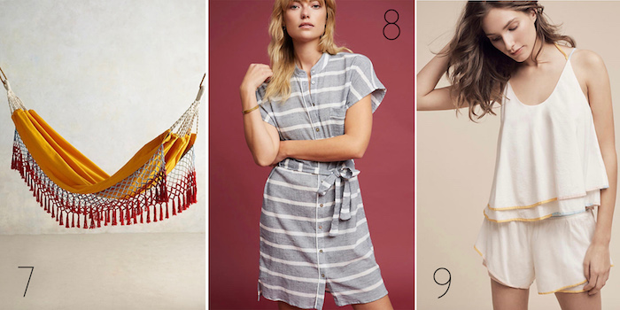 Anthropologie's Mid Summer Sale Picks via thehiveblog.com