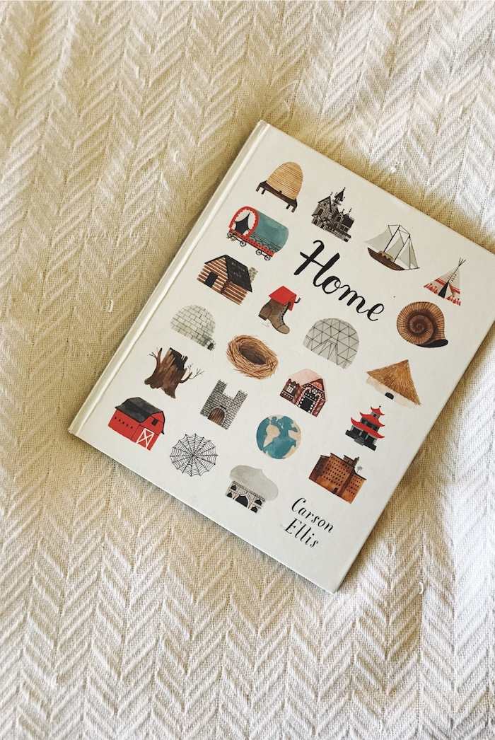Our favorite children's book: Home by Carson Ellis // www.thehiveblog.com