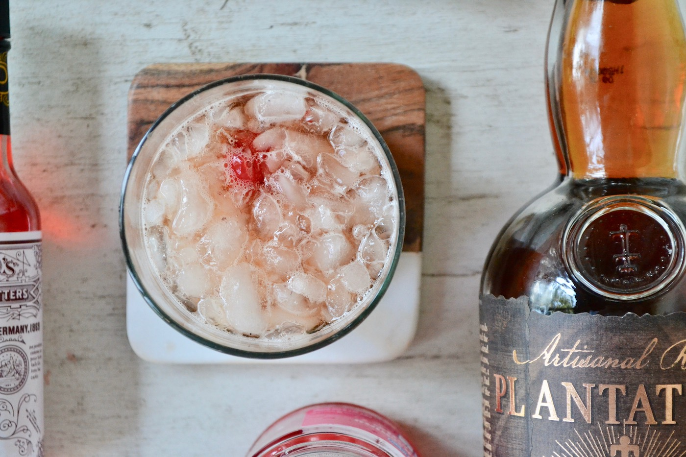 Rum Old Fashioned // www.thehiveblog.com