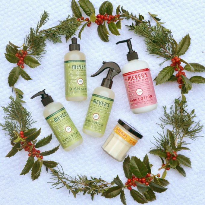 The Scents of the Season with Mrs. Meyers // www.thehiveblog.com