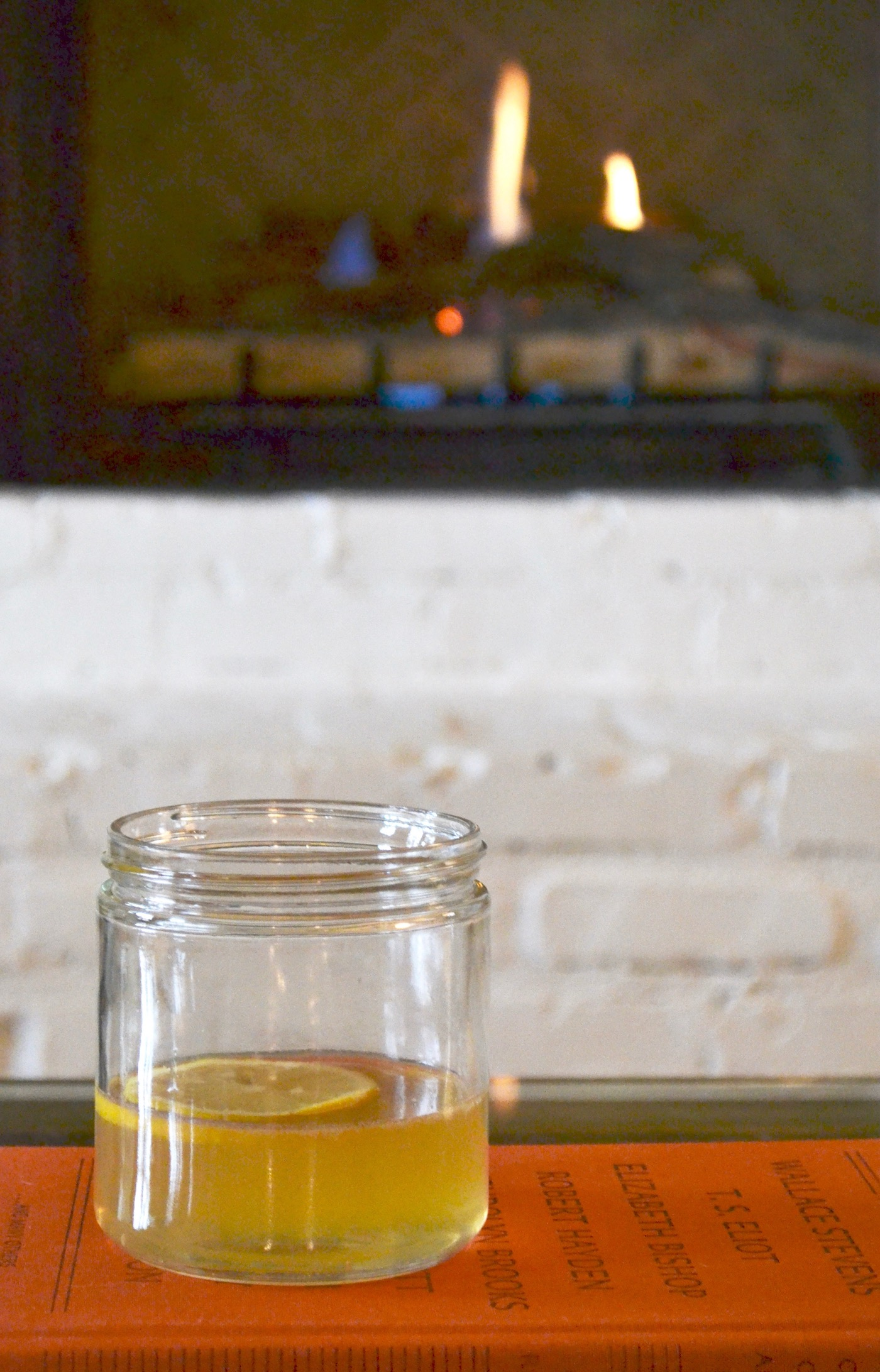 Lemon Ginger Hot Toddy // www.thehiveblog.com