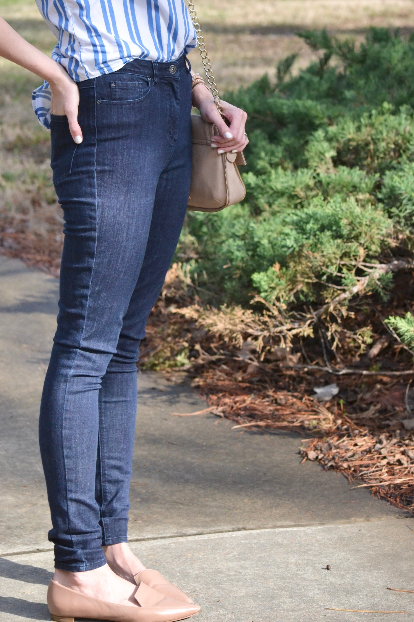 Long Tall Sally's Powerstretch Super Skinny Jean // www.thehiveblog.com