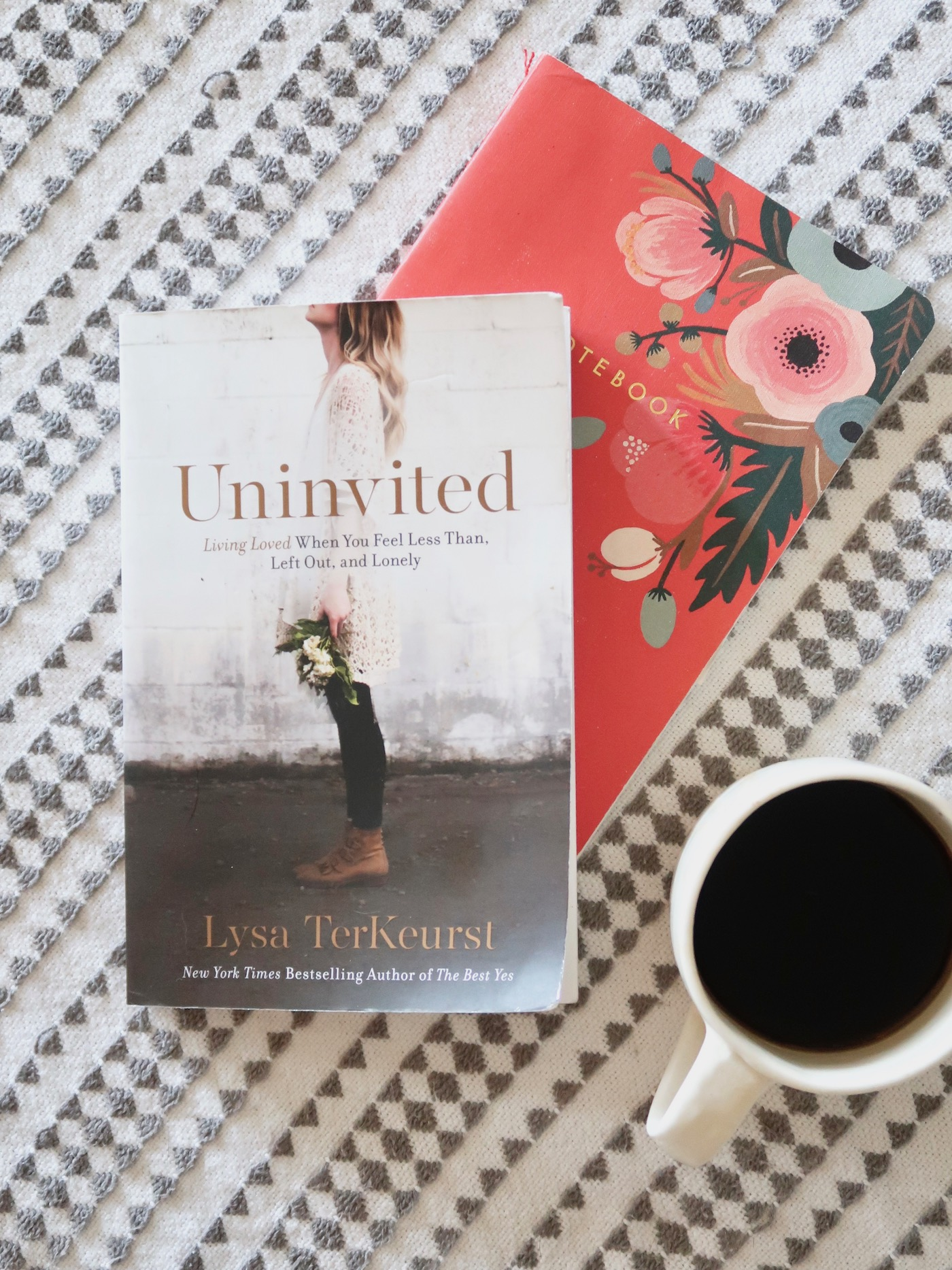 Uninvited by Lysa Terkeurst. Highly recommend! // www.thehiveblog.com