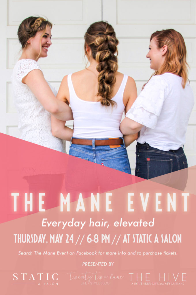 THE MANE EVENT // www.thehiveblog.com