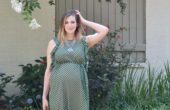 Polka Polka // second trimester maternity style // www.thehiveblog.com