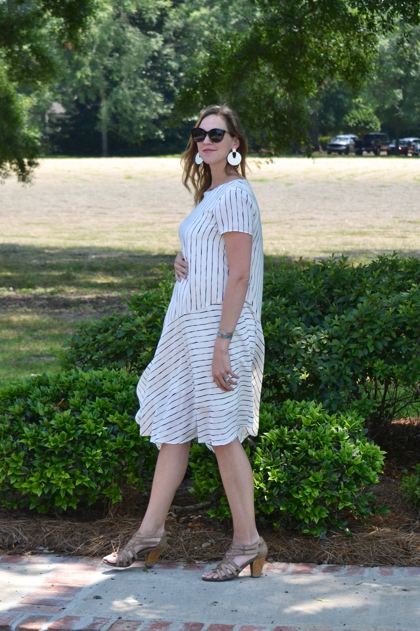 Black and White Stripes from Hatch Collection // second trimester style // www.thehiveblog.com