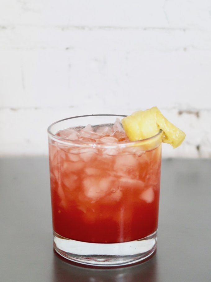 Easy Rum Runner recipe made with Plantation rums // www.thehiveblog.com