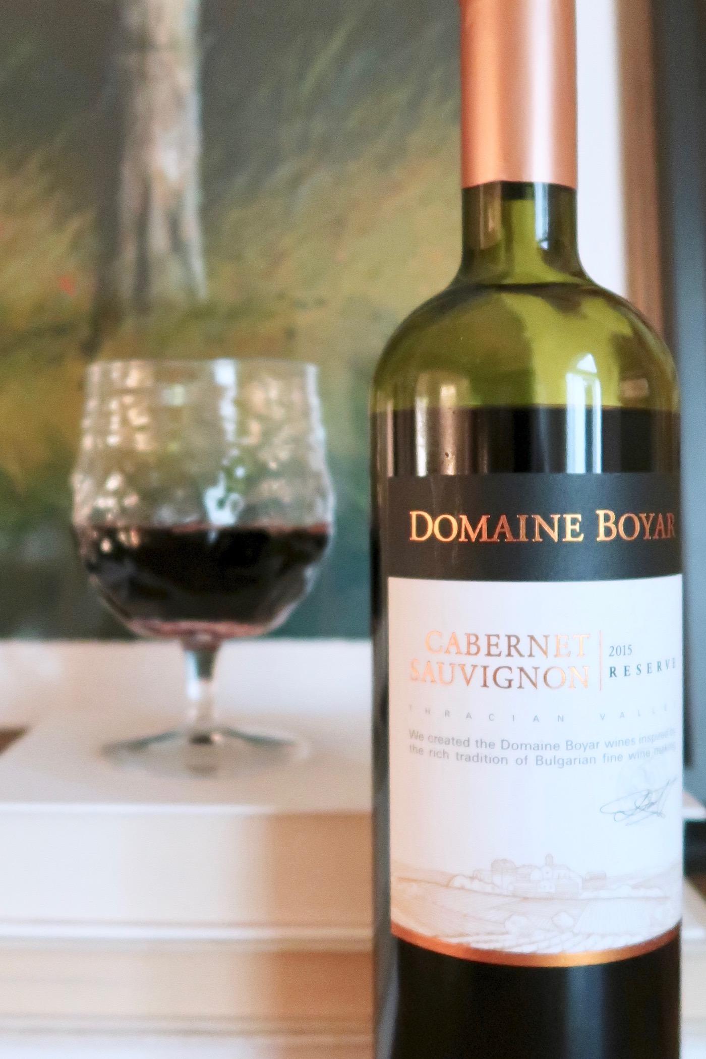 Fifteen Dollar Bottle: Domaine Boyar Cab
