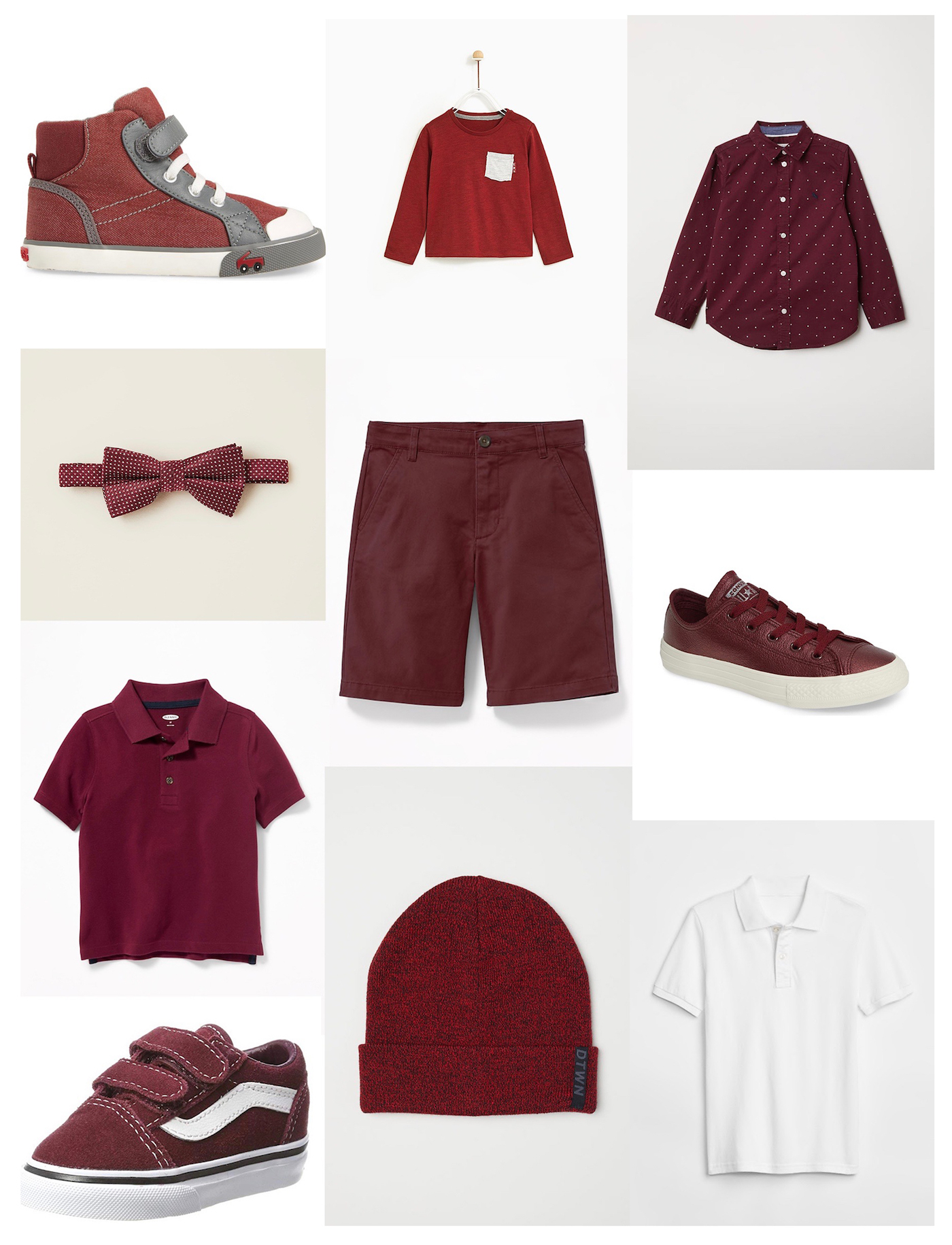 Maroon clothes for toddlers // Mississippi State University // www.thehiveblog.com