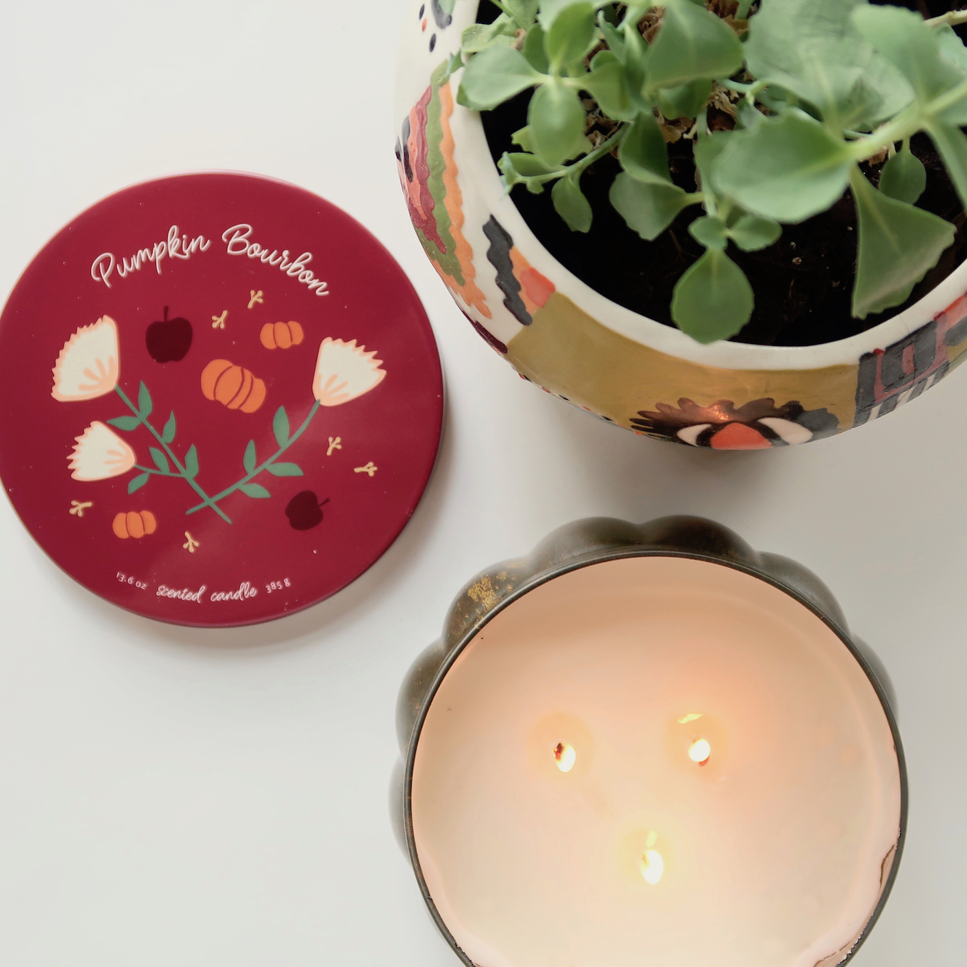 Pumpkin Bourbon Candle -- The PERFECT Fall scent