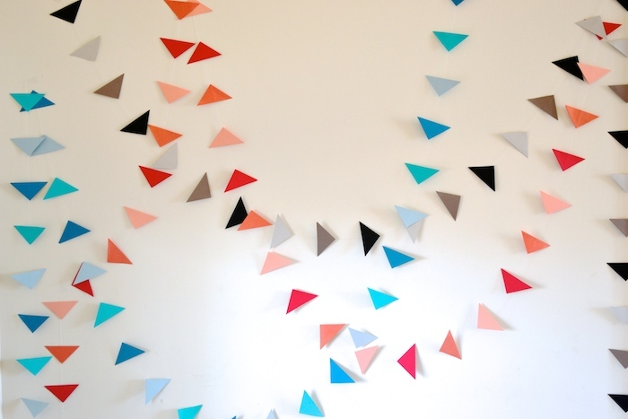 Floating Party Garland by The Lovely Bee Paper Co. // THE HIVE
