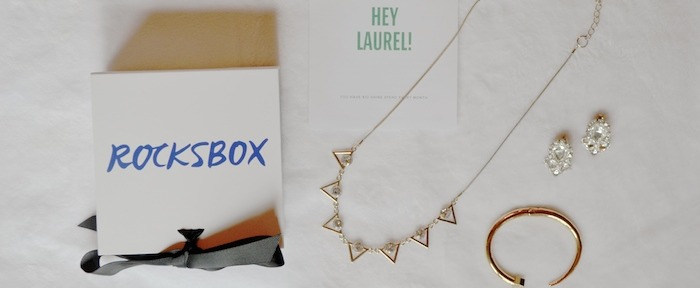 Rocksbox! Use code thelovelybeexoxo for first month FREE! // www.thehiveblog.com