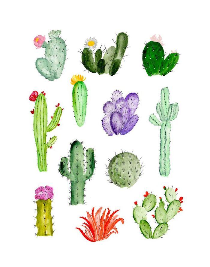 Cool cactus print // www.thehiveblog.com