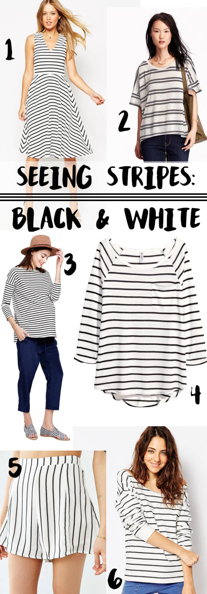 Seeing Stripes: Black and White // www.thehiveblog.com