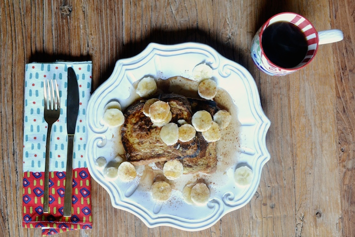 Fairly Healty French Toast // www.thehiveblog.com