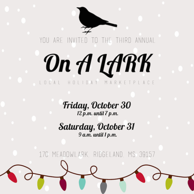 On a LARK Holiday Marketplace 2015 // www.thehiveblog.com