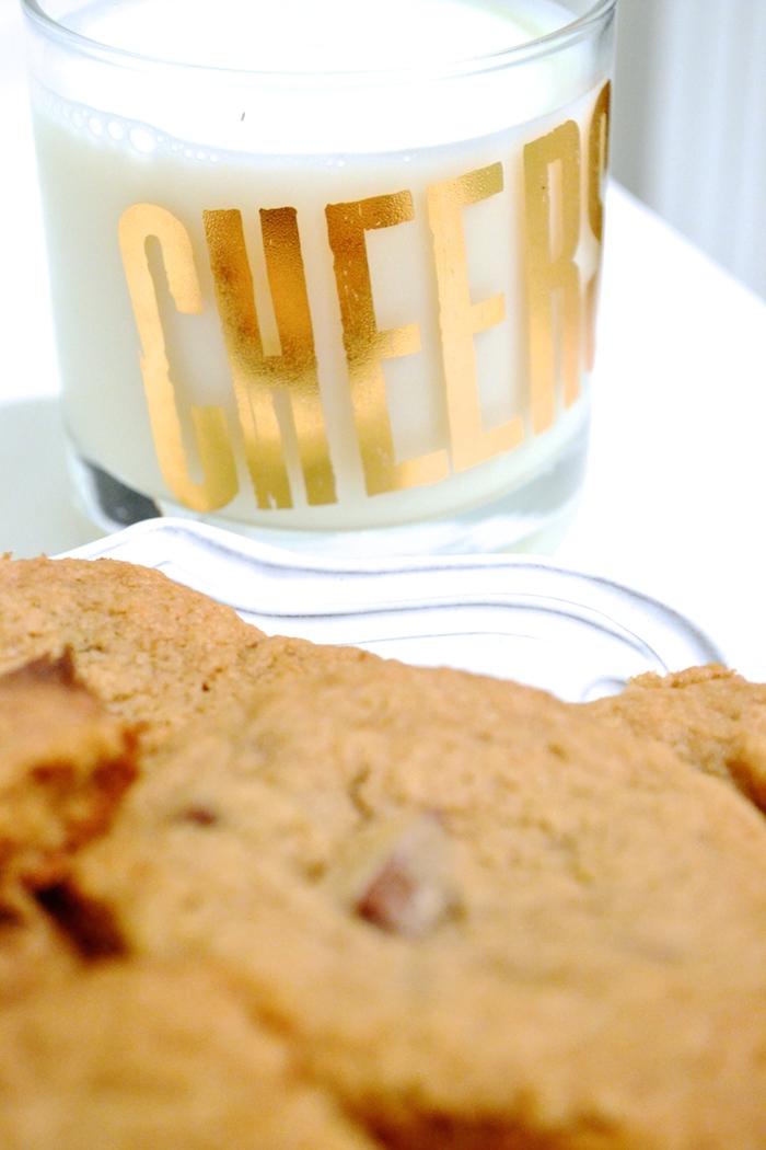 Milk and cookies! // www.thehiveblog.com