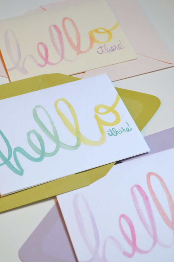 The Lovely Bee Paper Co. // www.thehiveblog.com
