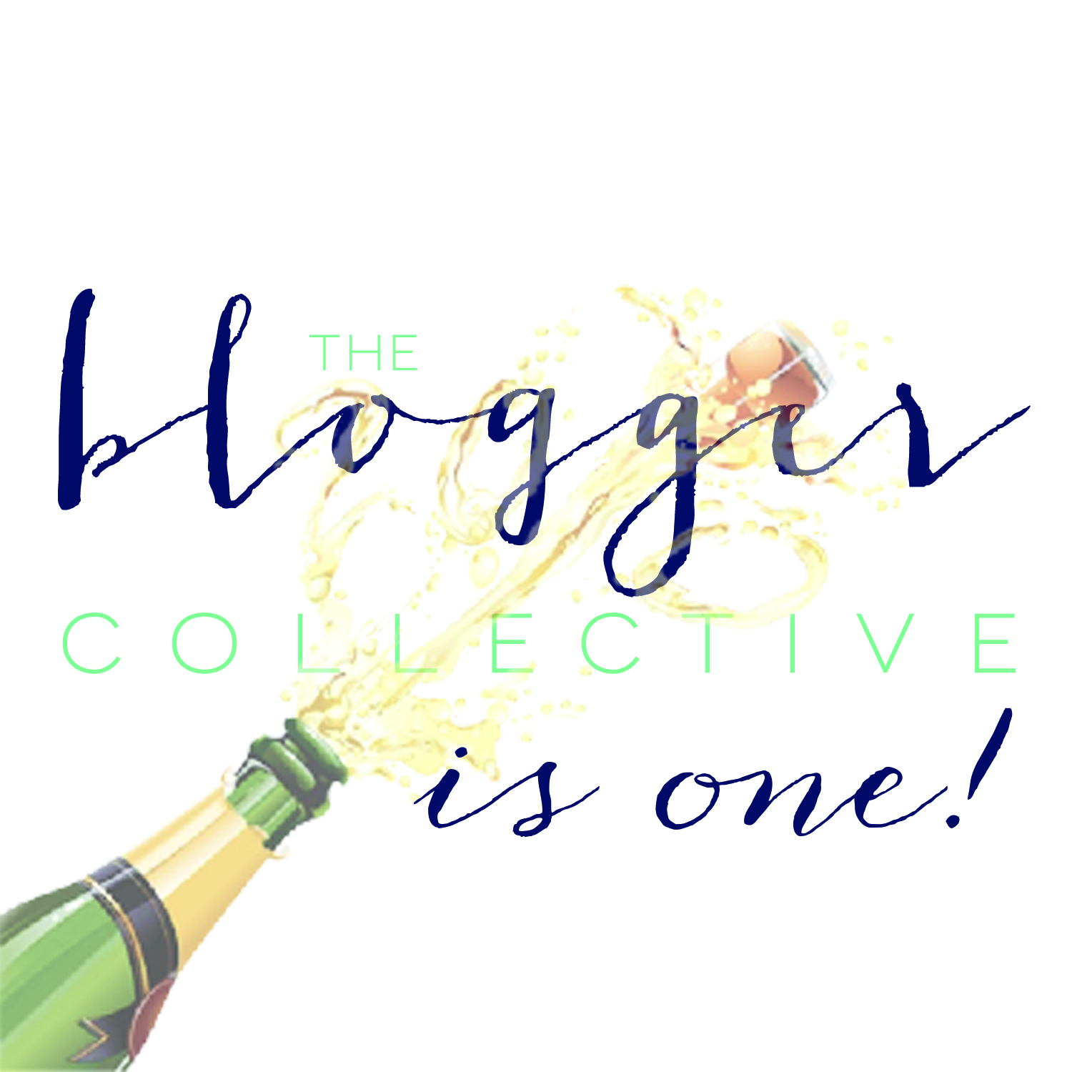 The Blogger Collective turns ONE! // www.thehiveblog.com
