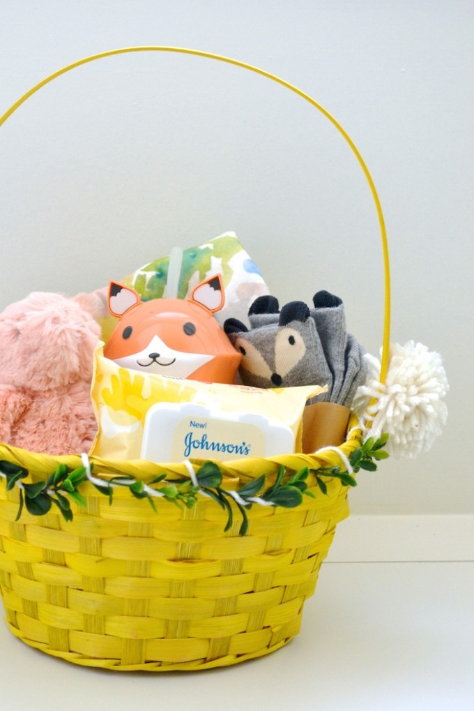 Easter Basket ideas for kids under two // www.thehiveblog.com