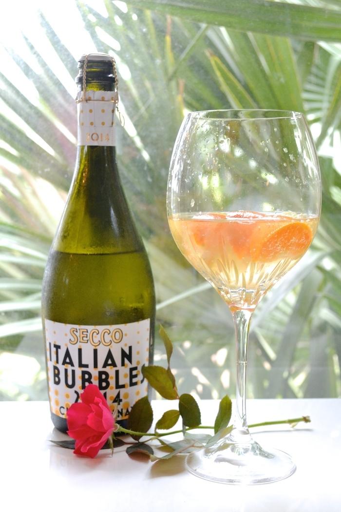 Italian Bubbles + St. Germain + citrus. YUM!