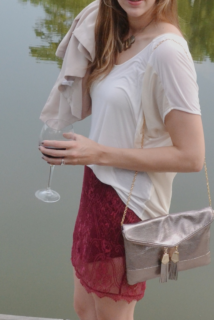 Lace Mini // www.thehiveblog.com
