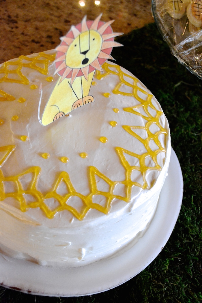 Roaring Twos: A birthday celebration for a very special, lion loving two year old!