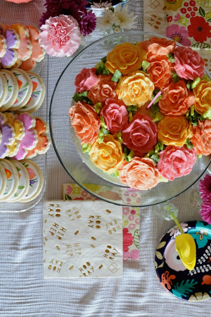A Garden Party First Birthday