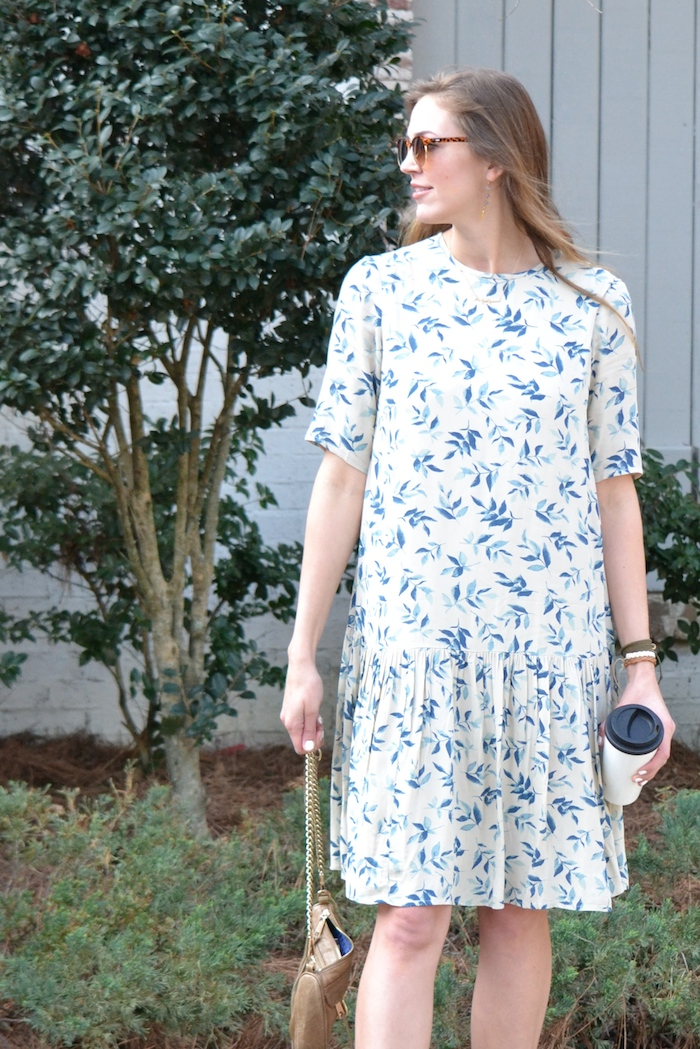 Drop Waist Floral via thehiveblog.com