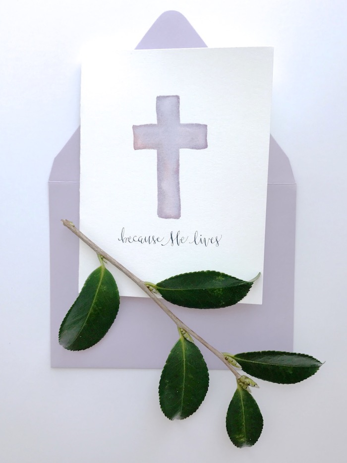 Because HE Lives cards by thelovelybee via thehiveblog.com